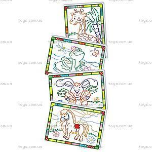 Набор для творчества «Волшебные контуры», VT4402-17..20, toys