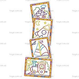 Набор для творчества «Волшебные контуры», VT4402-17..20, іграшки