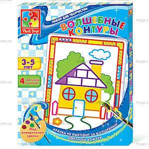 Набор для творчества «Волшебные контуры», VT4402-17..20, детский