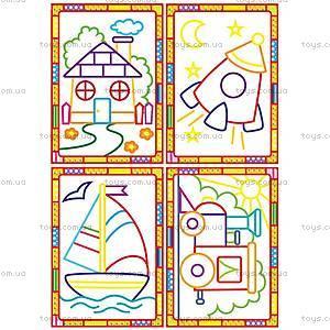 Набор для творчества «Волшебные контуры» с красками, VT2601-05, toys.com.ua