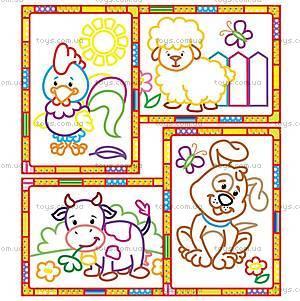 Набор для творчества «Волшебные контуры» с красками, VT2601-05, toys