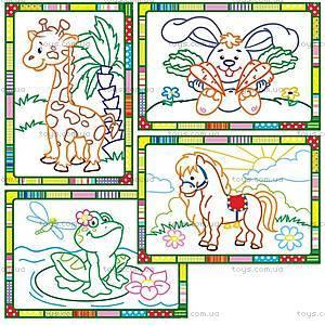 Набор для творчества «Волшебные контуры» с красками, VT2601-05, іграшки