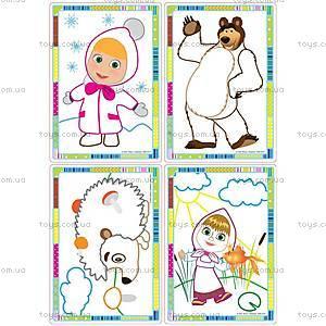 Набор для творчества «Волшебные контуры с Машей», VT2601-0102, детские игрушки