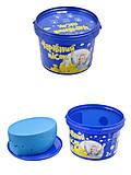 Волшебный песок 2 кг., голубой цвет, 317-2, фото