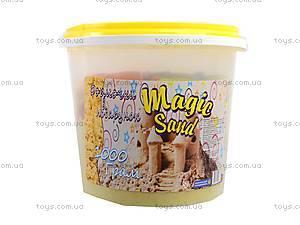 Желтый волшебный песок 1 кг., 372-6, отзывы