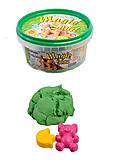 Волшебный песок зеленый 0,350 кг., 370-5, отзывы