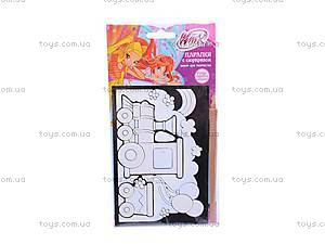 Набор для творчества Winx «Царапки с сюрпризом», SCD-SC512P, магазин игрушек