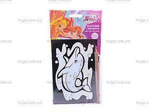 Набор для творчества Winx «Царапки с сюрпризом», SCD-SC512P, toys