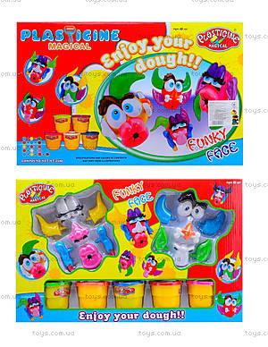 Набор для творчества из пластилина для детей, 9195