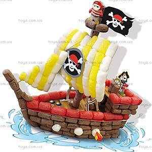 Набор для творчества «Пиратский корабль» серии «Забавная кукуруза», 24975S, купить