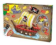 Набор для творчества «Пиратский корабль» серии «Забавная кукуруза», 24975S, фото