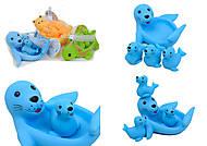 Набор игрушек для ванной «Резиновые животные», 6327-1-2-4