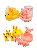 Набор для игры в ванной«Животные», 6327-596328-1, купить