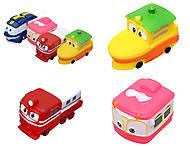 Детский набор для ванной «Robot Trains», CH8804, купить