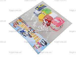 Детский набор для ванной «Robot Trains», CH8804, детские игрушки