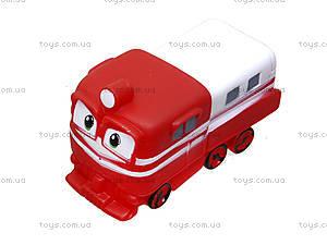Детский набор для ванной «Robot Trains», CH8804, toys.com.ua