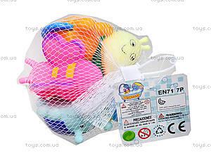 Набор для ванной «Резиновые животные», CQS601-4, игрушки