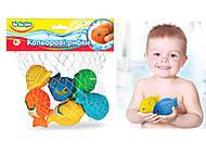 Набор для ванной «Цветные рыбки», 57090, купить