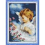Набор для вышивания «Ангел и цветы», R265(2), фото