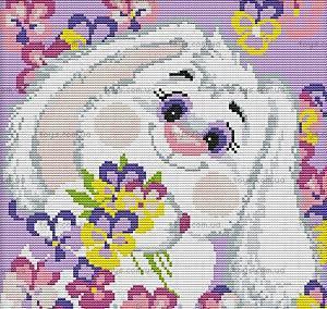 Набор для вышивания «Белый кролик 2», K176