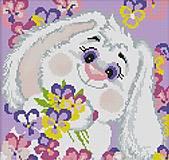 Набор для вышивания «Белый кролик 2», K176, отзывы