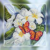 Набор для вышивания бисером «Бабочки», ВБ 1041, купить