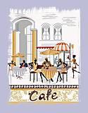 Набор для вышивания бисером «Городское кафе», ВБ 1031, купить