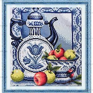 Набор для вышивания «Цветы и фрукты», J0