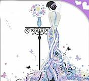 Набор для вышивания «Леди-бабочка», R333