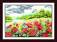 Набор для вышивания «Маковое поле», F020, фото