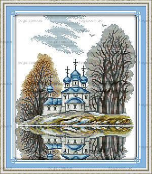 Набор для вышивания «Маленькая церковь», F336