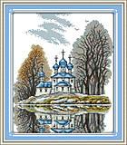 Набор для вышивания «Маленькая церковь», F336, отзывы