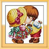 Набор для вышивания «Маленькие влюбленные», K091, отзывы