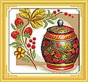 Набор для вышивания «Медовая клубника», J111, отзывы