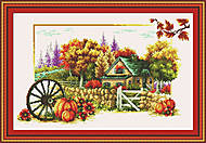 Набор для вышивания «Осень», F052, отзывы