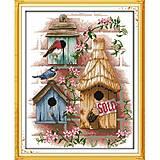 Набор для вышивания «Птичий домик», F190