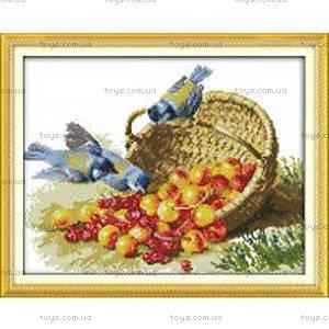 Набор для вышивания «Птицы и фрукты», D148