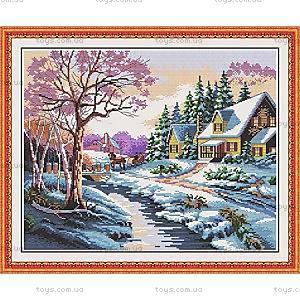 Набор для вышивания «Рождественская сказка», F025