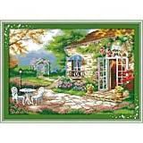 Набор для вышивания «Романтическая веранда», F231, фото