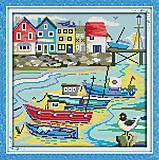 Набор для вышивания «Рыбацкая деревня», F019 (2), отзывы