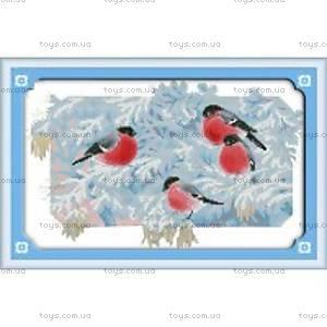Набор для вышивания «Снегири», D327
