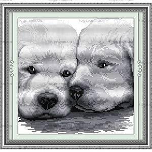 Набор для вышивания «Собачья верность», D182