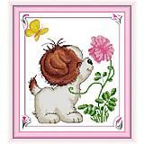 Набор для вышивания «Веселый песик», K036