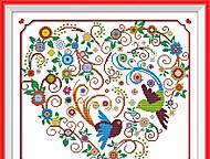 Набор для вышивания «Яркое сердце», K607, фото