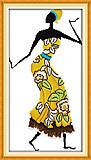 Набор для вышивки «Африканские мотивы», R323(1), отзывы