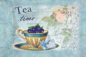 Набор для вышивки бисером «Черничный чай», ВБ 2012