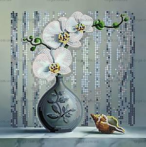 Набор для вышивки бисером «Орхидея», ВБ 1007