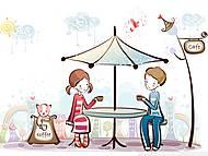 Набор для вышивки бисером «Первое свидание», ВБ 2027, фото