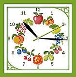Набор для вышивки «Часы. Фрукты», G198, купить