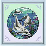 Набор для вышивки «Дельфины», D138